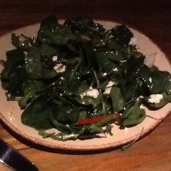 Spinach & Arugula Salad - Texas Spice, Dallas, TX