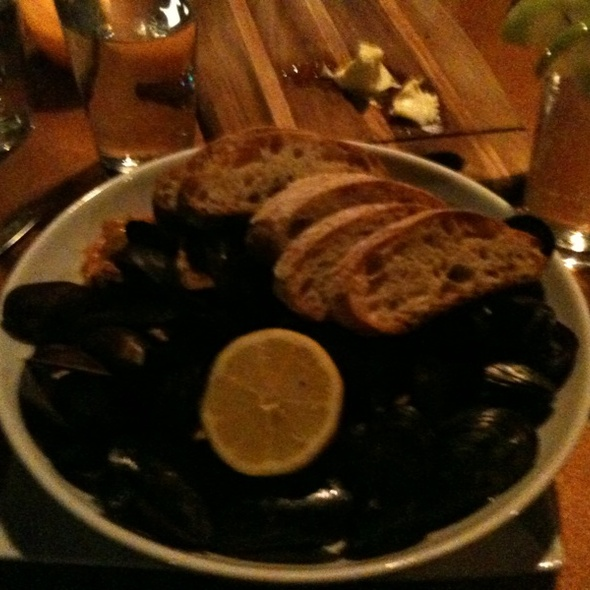 Steamed PEI Mussels - The Admiral, Asheville, NC