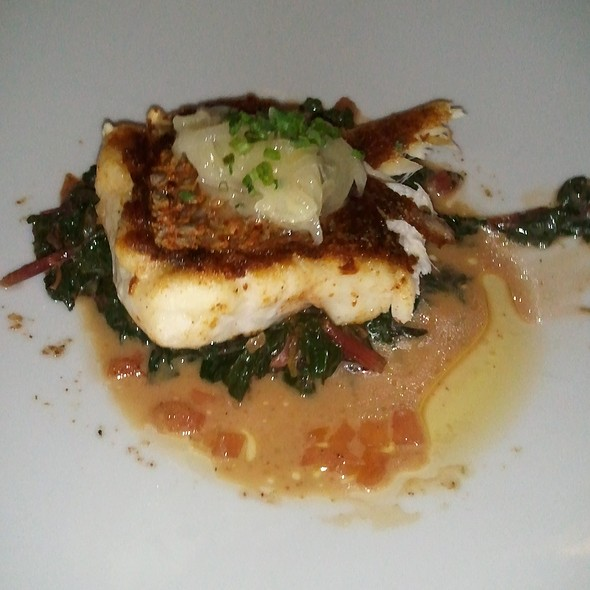 Roasted Grouper - Reef, Houston, TX