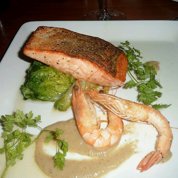 Salmon And Prawns In A Honey And Thyme Sauce  - Alma De Cuba, Liverpool, Merseyside
