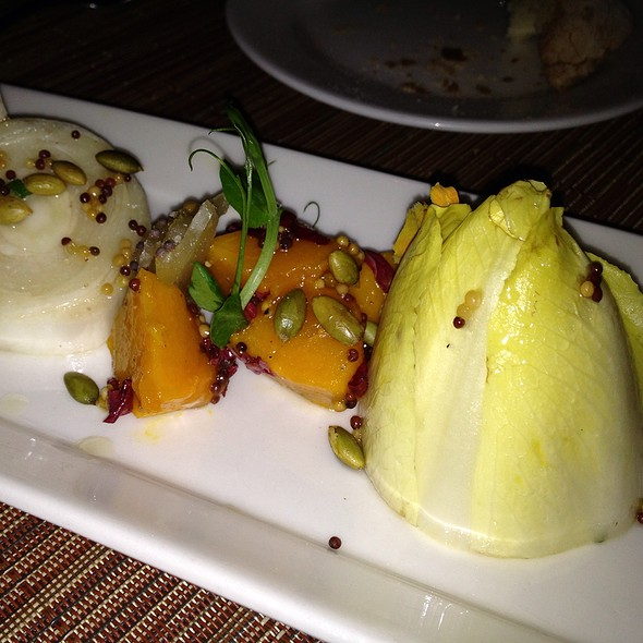 Belgian Endive, Roasted Sugar Pumpkin, Pickled Mustard Seed - Dettera Restaurant & Wine Bar, Ambler, PA
