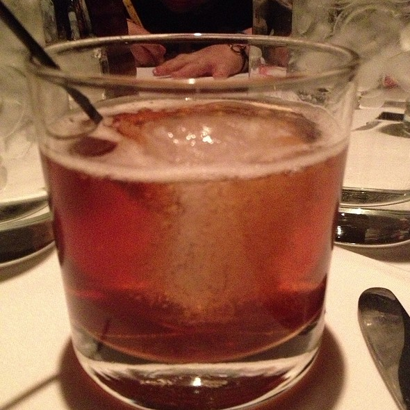 New Fashioned Cocktail - Jake's Restaurant, Brookfield, WI