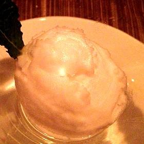 Meyer Lemon Sorbet - Dettera Restaurant & Wine Bar, Ambler, PA