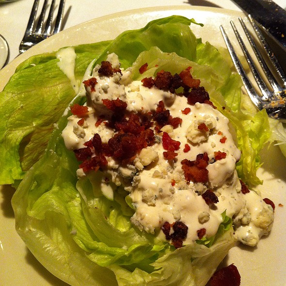 Wedge Salad w/ Blue Cheese - Bob's Steak and Chop House - Omni Tucson National Resort, Tucson, AZ