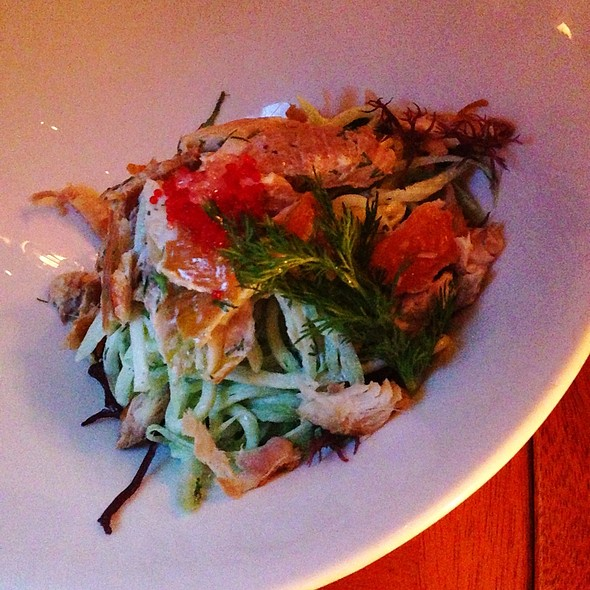 Smoked Trout Salad - The Fly Trap, San Francisco, CA