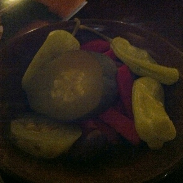 Pickled Vegetables - Tabule on Yonge, Toronto, ON