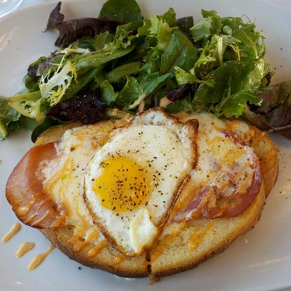 Croque Madame - Sips Bistro and Bar, Phoenixville, PA