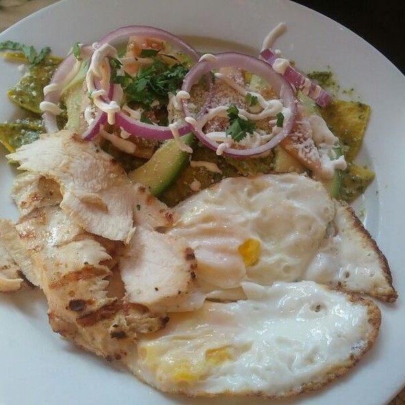 Chilaquiles - Santa Fe, New York, NY