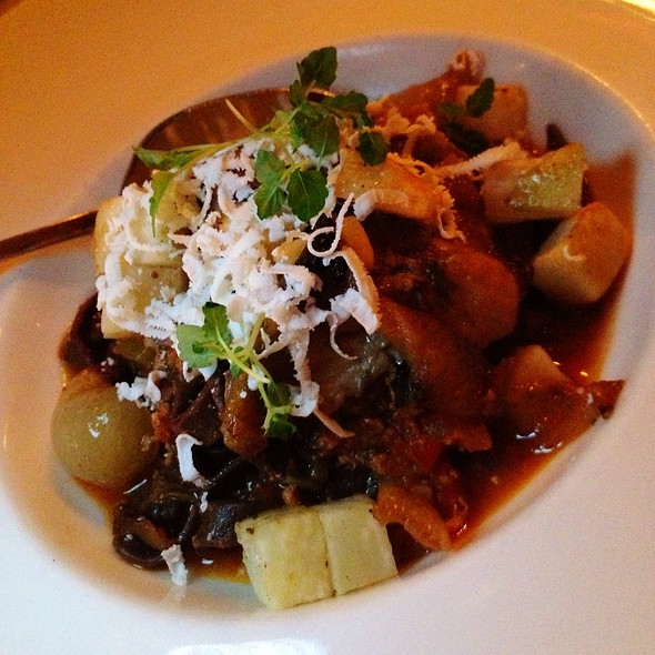 Lamb Ragu With Cocoa Pasta - The Fly Trap, San Francisco, CA