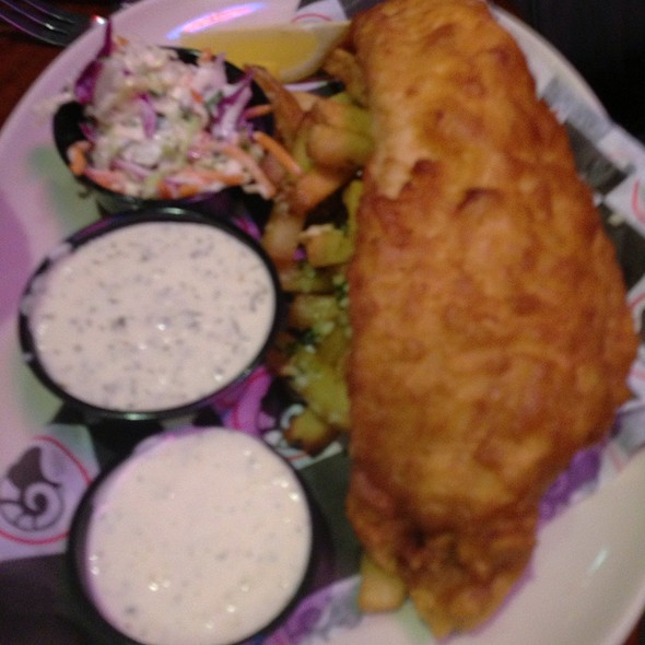 Fish and Chips - Ram Restaurant & Brewery - Rosemont, Rosemont, IL