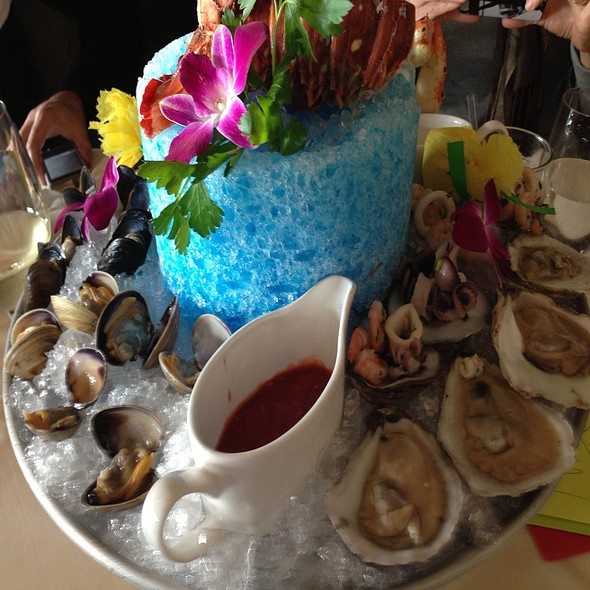 Chilled Seafood Tower - Vigilucci's Seafood & Steakhouse, Carlsbad, CA