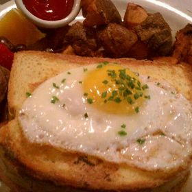 Croque Madame - The Majestic Restaurant, Kansas City, MO