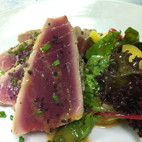 Seared Tuna - Zebra's Bistro and Wine Bar, Medfield, MA