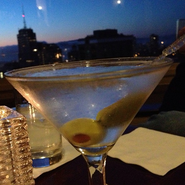 Dirty Chopin Martini - Top of the Mark, San Francisco, CA