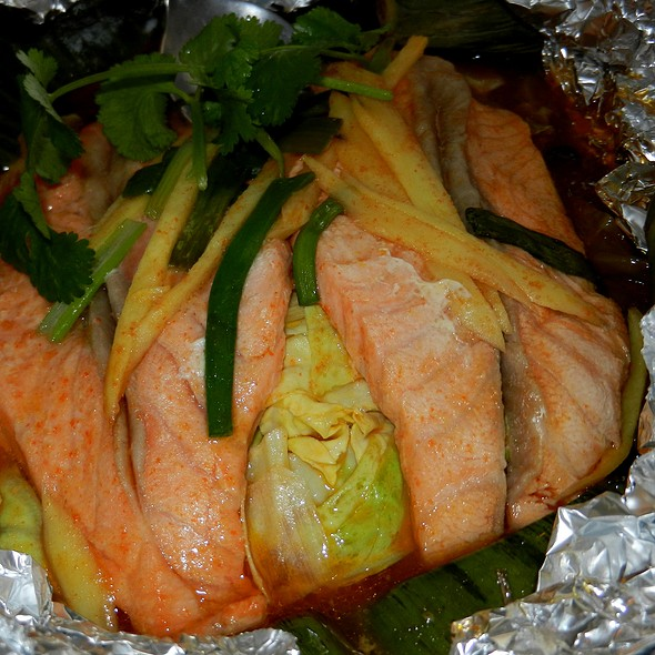 Baked Salmon - Plearn Thai, Berkeley, CA