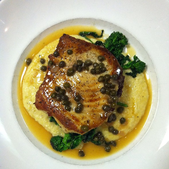 Pan Roasted Swordfish - The York, Syracuse, NY