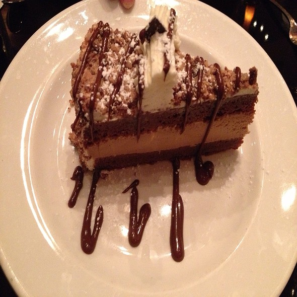 Chocolate Toffee Cake With A Marscapone Espresso Filling - Grotto - Houston, Houston, TX