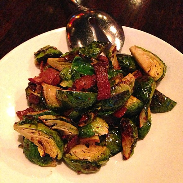 Roasted Brussel Sprouts With Bacon - Zengo Denver, Denver, CO