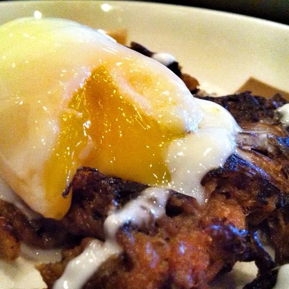 Short Rib Hash & Egg - Border Grill – Mandalay Bay, Las Vegas, NV