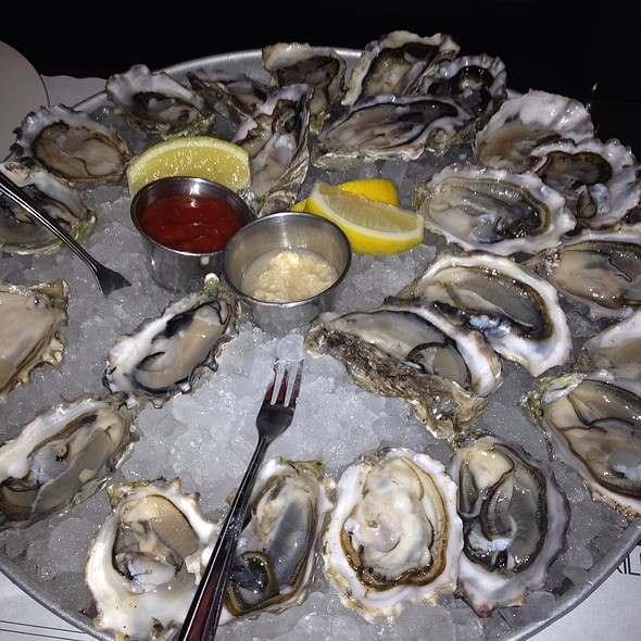 raw oysters - Docks Oyster Bar and Seafood Grill, New York, NY