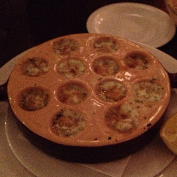 Escargot-Style Mussels - Prix Fixe Brasserie, London