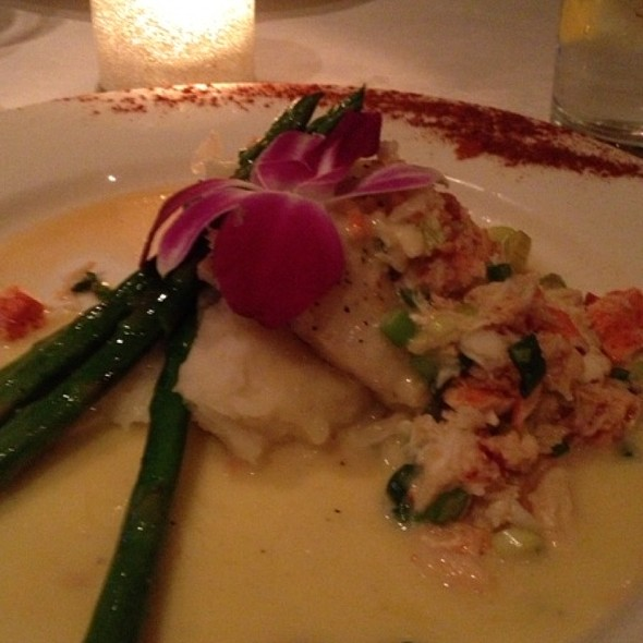 Flounder Topped With Crab Medley - Cobalt Grille, Virginia Beach, VA