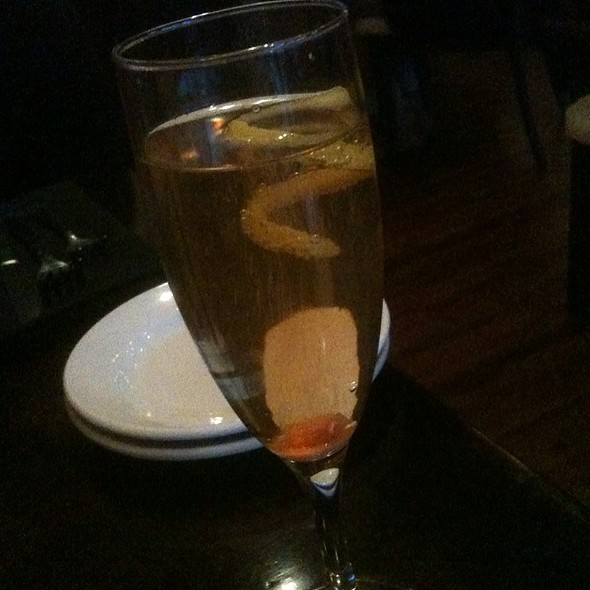 Classic Champagne Cocktail - Southern Lights Bistro, Greensboro, NC