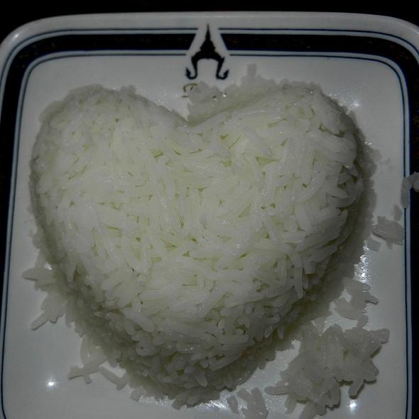 Steamed Rice - Plearn Thai, Berkeley, CA
