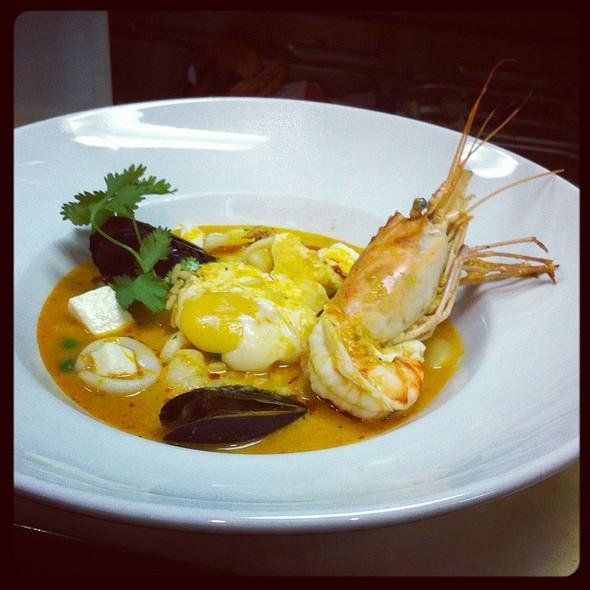 Chupe de mariscos - Mango Peruvian Restaurant, St. Louis, MO