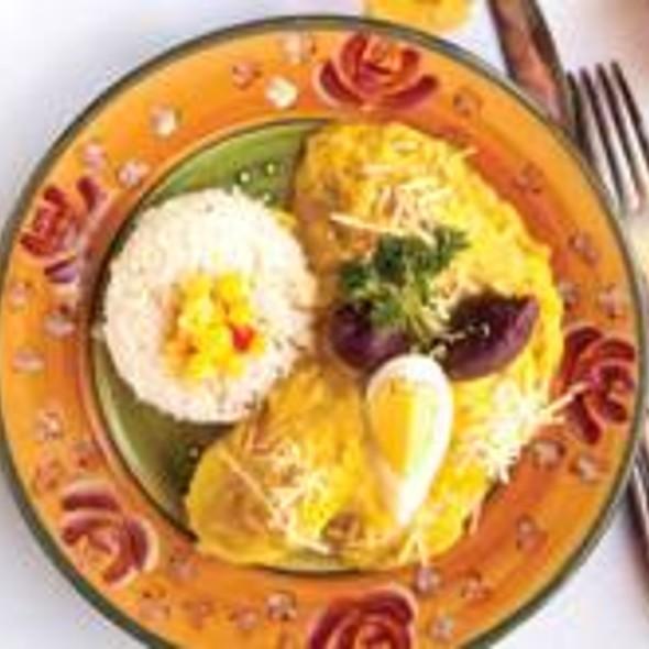 Aji de Gallina - Mango Peruvian Restaurant, St. Louis, MO