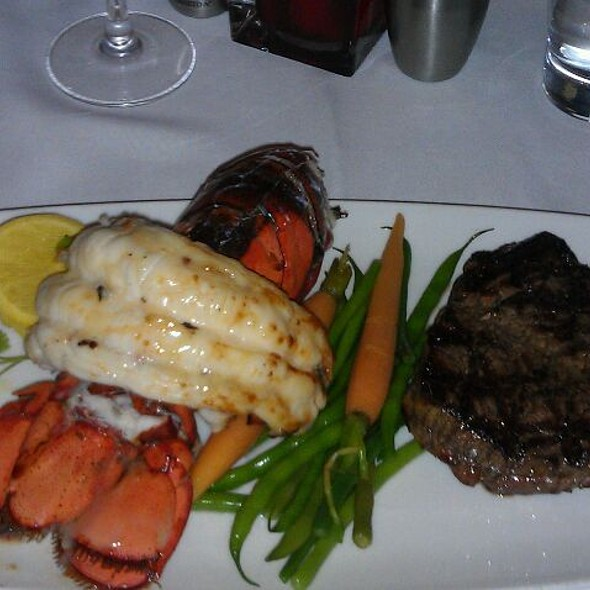 Surf&turf - The Charcoal Room - Santa Fe Station Hotel & Casino, Las Vegas, NV