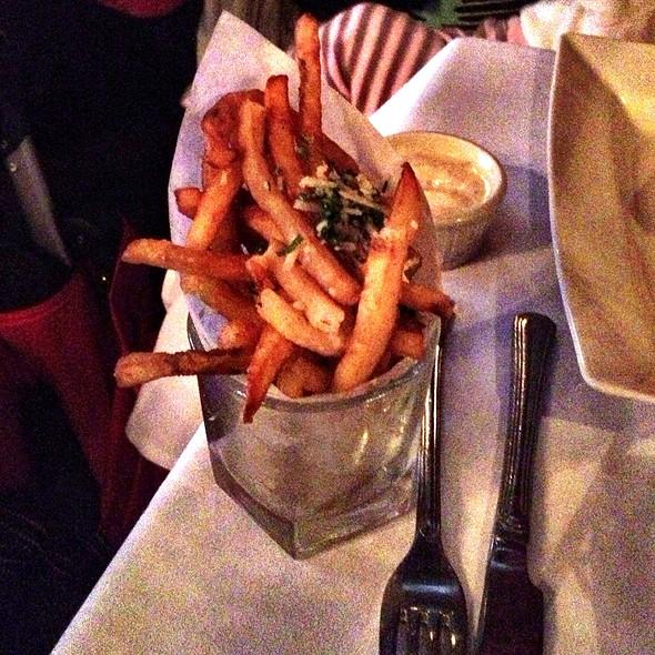 Truffle Fries - Mockingbird Bistro, Houston, TX