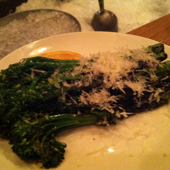 Broccolini With Mint & Ricotta Salata - The Parish, Portland, OR