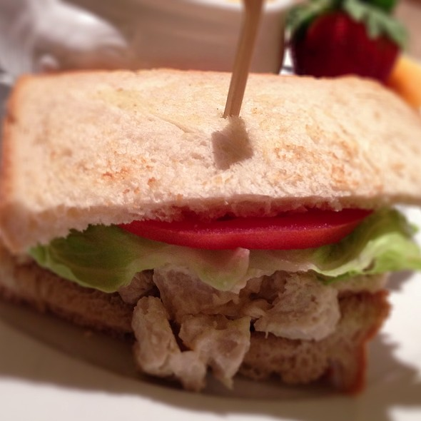 Chicken Salad Sandwich - NM Cafe at Neiman Marcus - Atlanta, Atlanta, GA