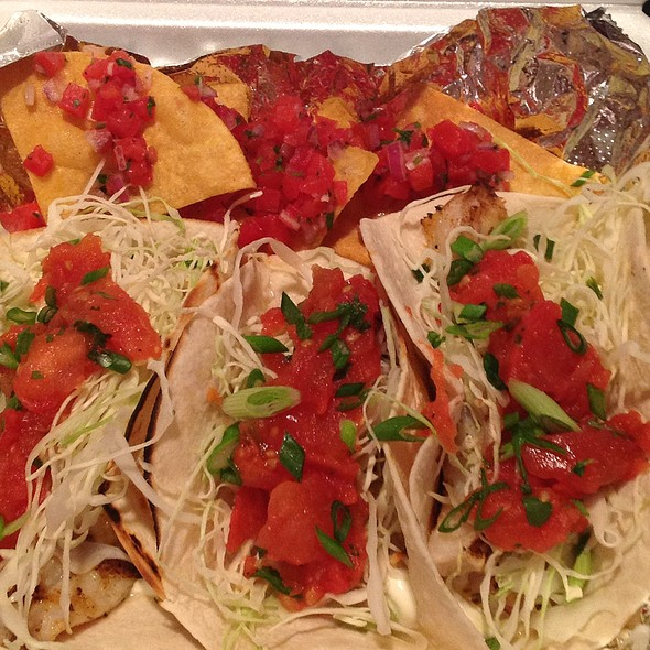 fish tacos - Equus and Jack's Lounge, Louisville, KY