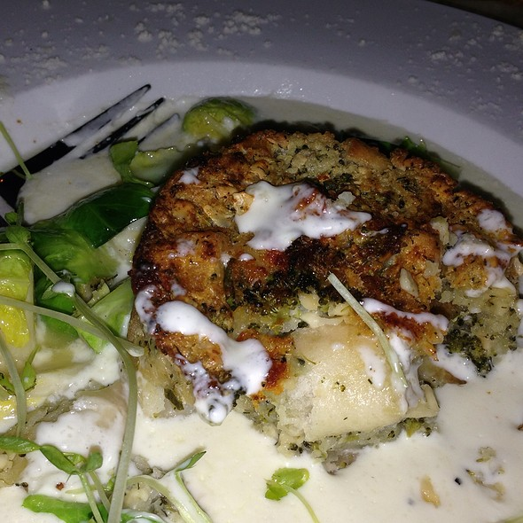 Gouda And Broccoli Bread Pudding - World Cafe Live, Philadelphia, PA