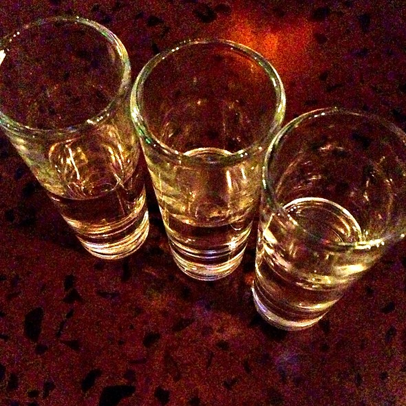 Organic Tequila Flight - Casa del Barco - Canal Walk, Richmond, VA