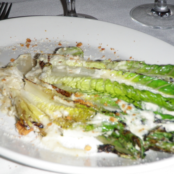 Grilled Caesar Salad - La Scala, Baltimore, MD