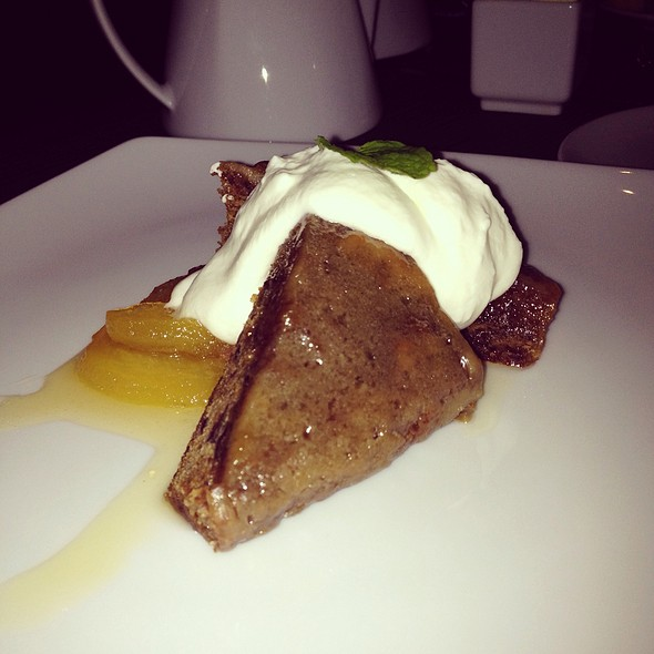 Sticky Toffee Pudding - 18 Seaboard, Raleigh, NC