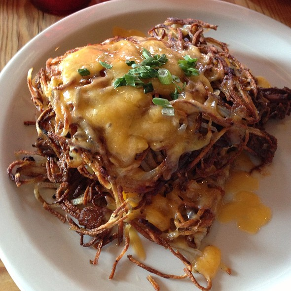 Texas Chili Hashbrown - The Silver Dollar - Priority Seating, Louisville, KY