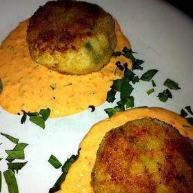 Crab Cakes - The Earle, Ann Arbor, MI