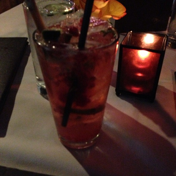 Raspberry Mojito - Seviche A Latin Restaurant - Highlands, Louisville, KY