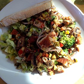Grilled Vegetable Salad - Home Restaurant - Silver Lake, Los Angeles, CA