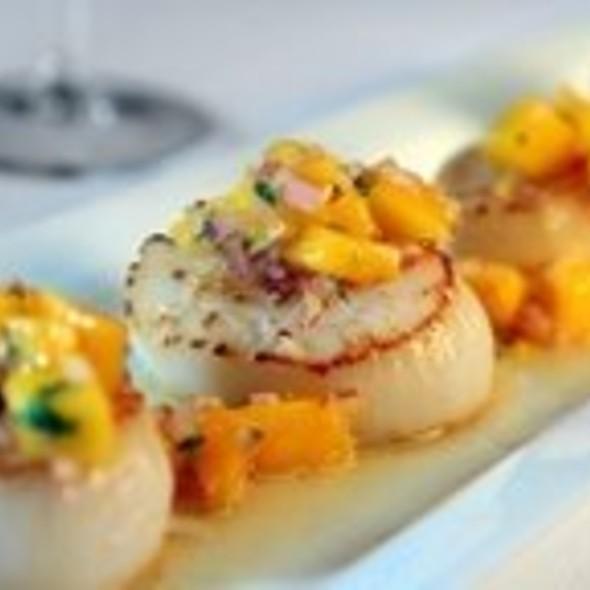 Scallops - Mango Peruvian Restaurant, St. Louis, MO
