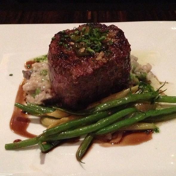 Filet Mignon Ala Plancha - Masraff's, Houston, TX