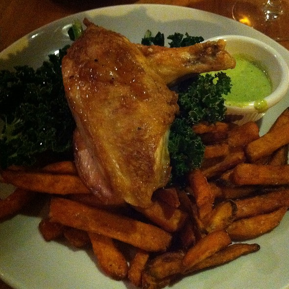 French Boned Chicken - Sweet Grass Grill, Tarrytown, NY