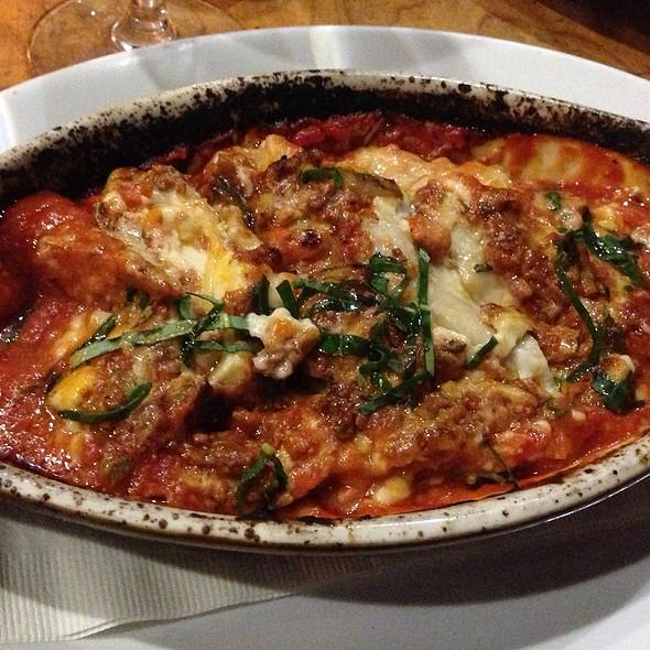 Lasagna W/Beef & Porcini Mushrooms - La Strada Ristorante Italiano, Palo Alto, CA