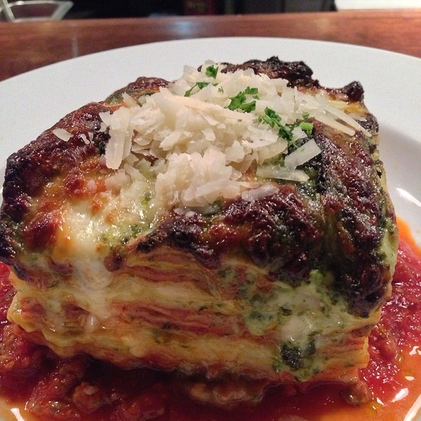 Housemade Lasagne - Crow, Seattle, WA