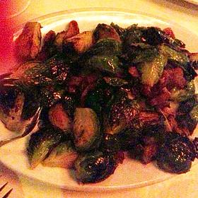 Pan Seared Brussels Sprouts - AQUA by El Gaucho, Seattle, WA