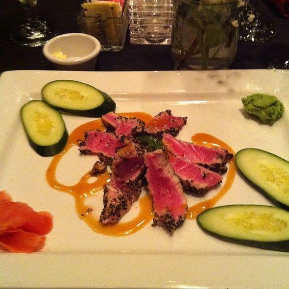 Seared Ahi Tuna - Artful Gourmet Bistro, Owings Mills, MD